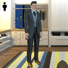 Distinguished Outfit - Male