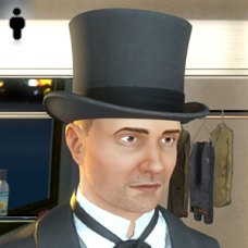 Distinguished Hat - Male