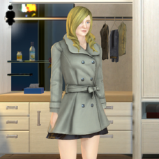 Wool Coat Outfit - Female