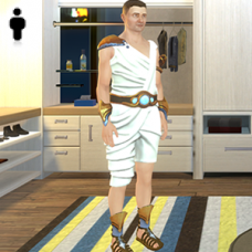 Greek God Outfit - Male
