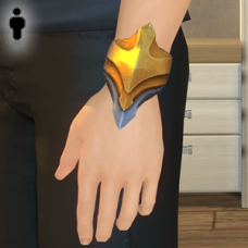 Greek God Bracer - Male