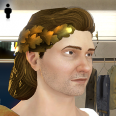 Greek God Hair - Male