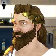 Greek God Beard - Male