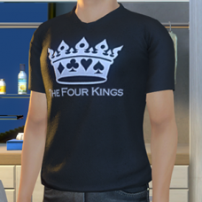 The Four Kings Logo T-Shirt - Male