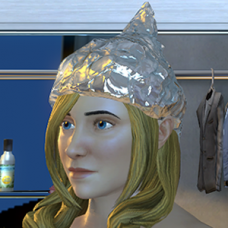 Tin Foil Hat - Female