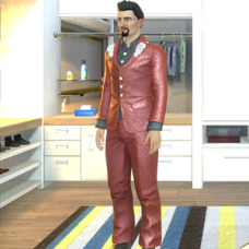 Dice Outfit - Male