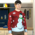 Ugly Christmas Sweater - Male