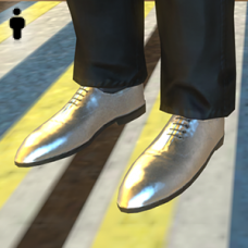 Silver Shoes - Male