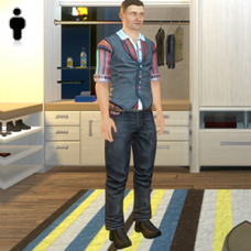 Roulette Outfit - Male