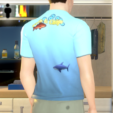 Fish and Chips Tee Shirt - Male