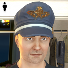 Air Force Captain Hat - Male
