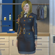 Air Force Captain Outfit - Female