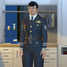 Air Force Captain Outfit - Male