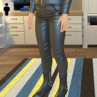 Leather Pants - Male