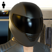 Motorcycle Helmet - Male