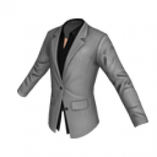 Suit Jacket with Collared Shirt