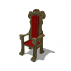 Animated Jewel Encrusted Throne