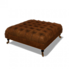 Abbey Hill Cottage Chesterfield Footstool