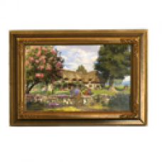 Abbey Hill Cottage Painting - Home Sweet Home