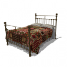 Abbey Hill Cottage Iron Bed