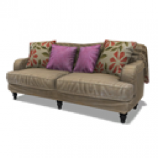 Abbey Hill Cottage Plush Sofa