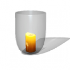 Acorn Meadows Apartment - Candle - Medium