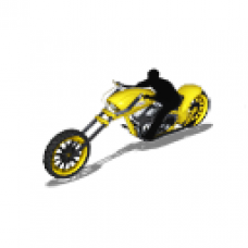 LMO - nDreams Choppers - Lo-Rider (Aurora Yellow)