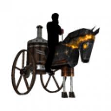 LMO - Steampunk Horse (Black)