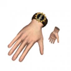 Cogs Gold Rank Watch