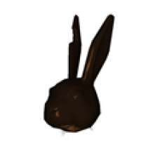 Chocolate Bunny Head (Male)