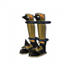 Demon Samurai Boots (Golden, Women)