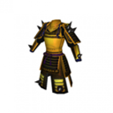 Demon Samurai Armor (Golden, Women)
