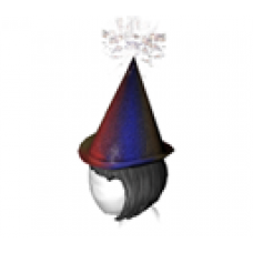 Animated Festive Party Hat (Female)
