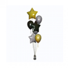 Black and Gold Party Balloons