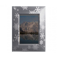 Animated Snowflake Picture Frame