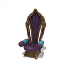 Arabian Royalty Throne - Indigo