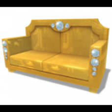 Animated Gold Couch