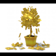 Animated Gold Money Tree